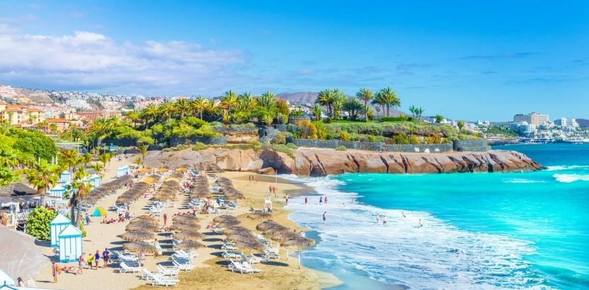 Costa Adeje tengerpartja