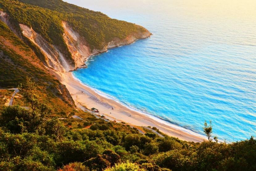 Pláž Myrtos, Kefalonia
