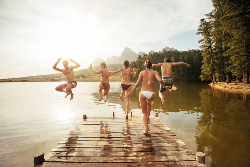Kúpanie v rakúskych jazerách