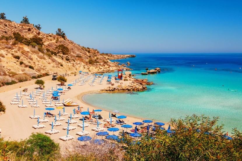 Nissi strand, Ciprus