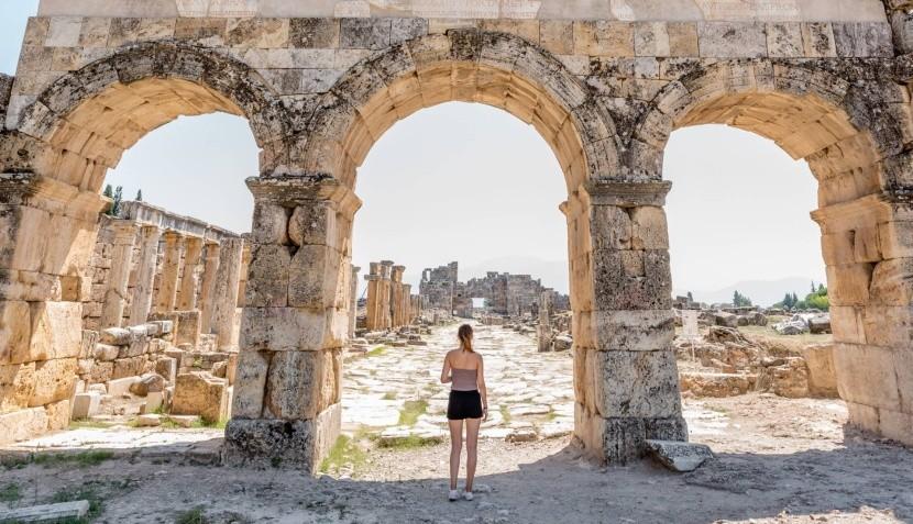 Bizánci kapu Hierapoliszban