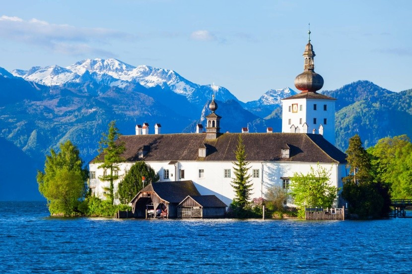 Zámek Ort, Gmunden, jezero Traunsee