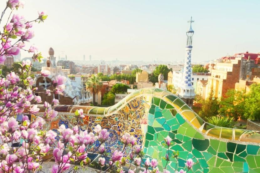 Barcelona egy tavaszi hétvégén