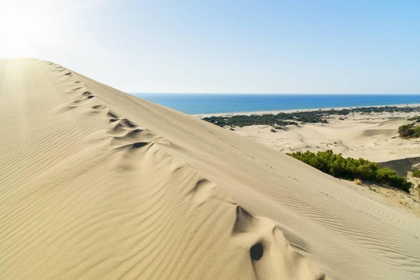 Duny a pláž Patara
