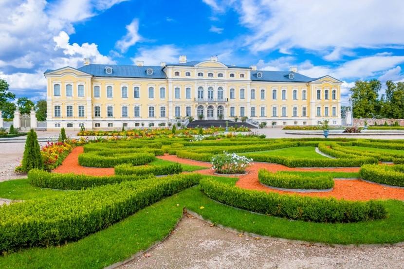 Zámok Rundāle, Lotyšsko