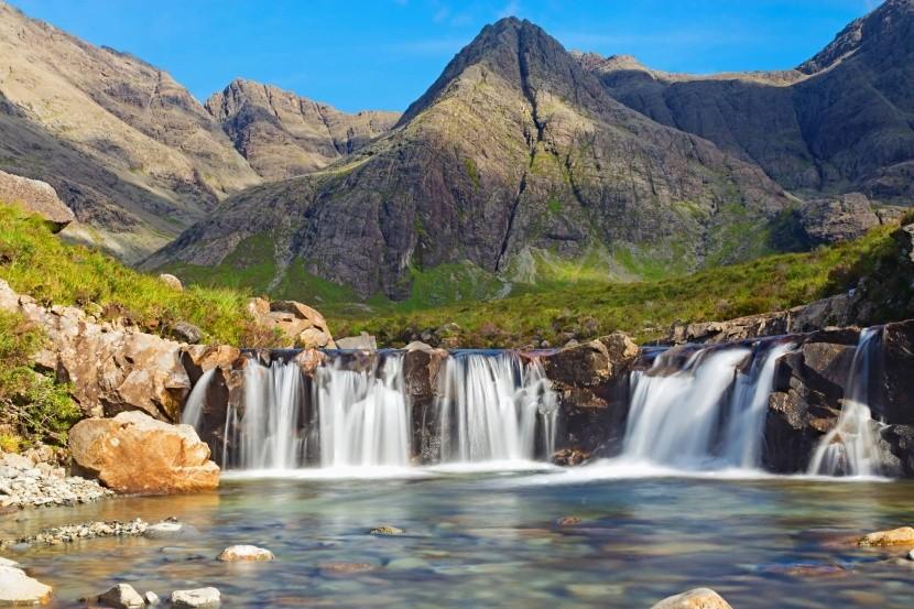 Fairy pools (Škótsko)