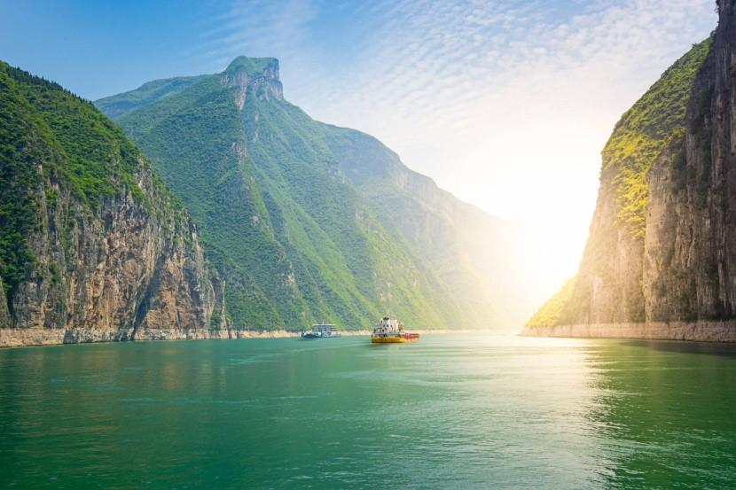 Jangce, Kína