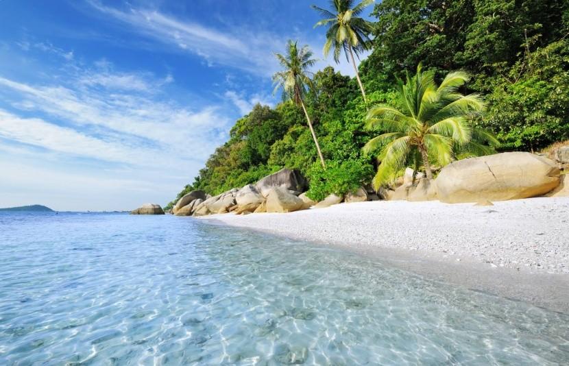Pláže v Malajsii