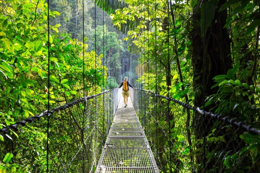 Cesta pralesem, Kostarika