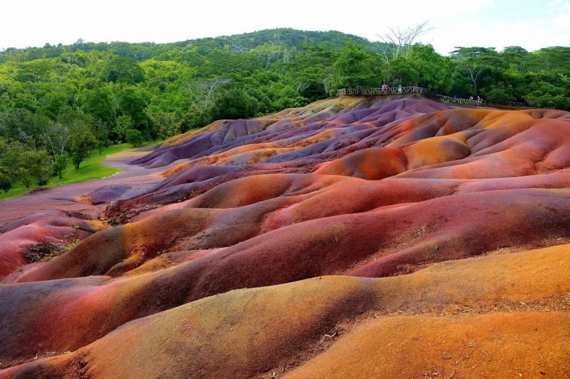 Chamarel – hétszínű ország
