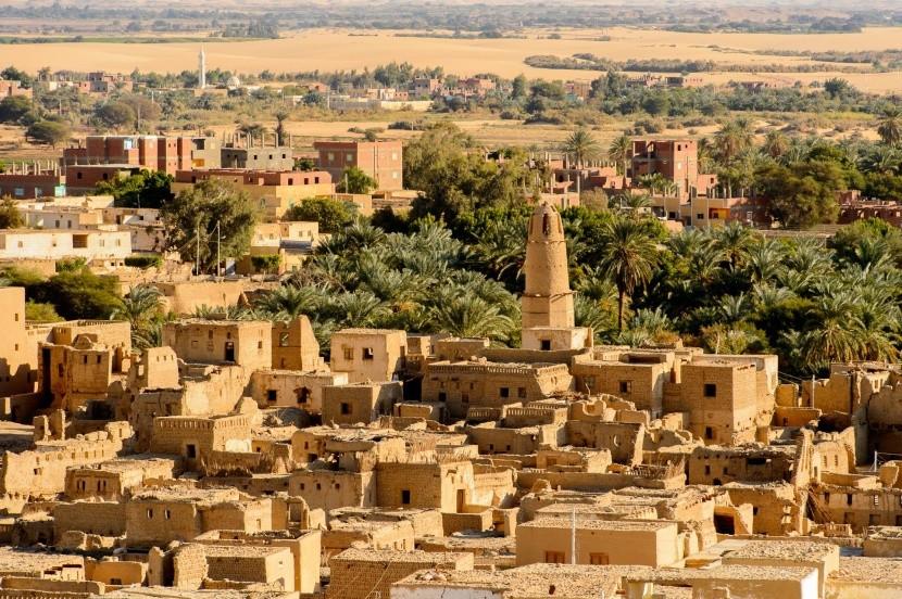 Al Qasr v oáze Dachla, Egypt