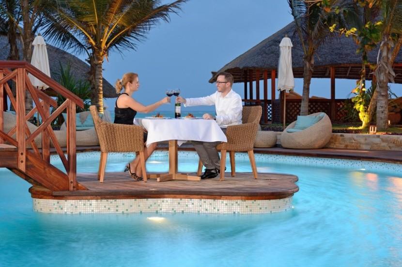 Tulia Zanzibar - romantická večeře