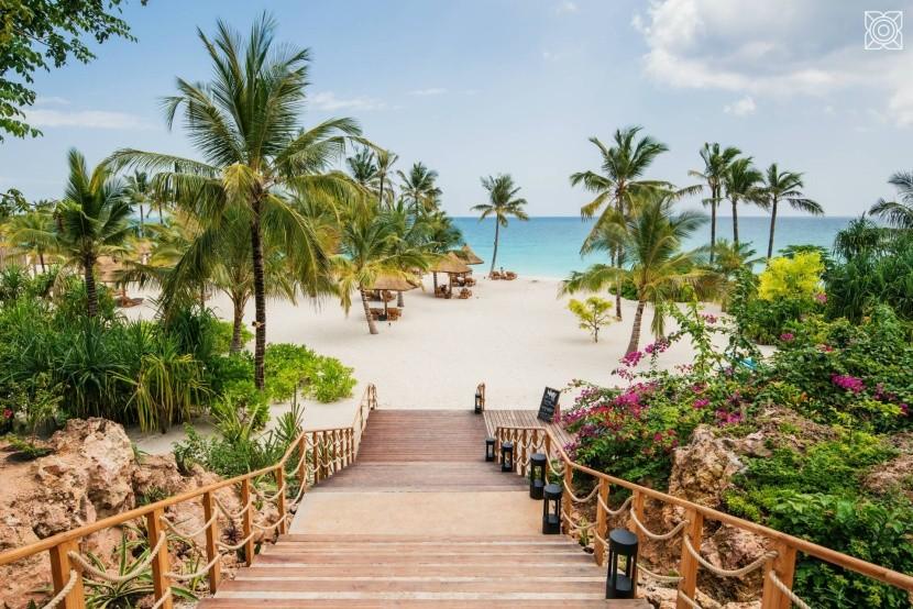 Zuri Zanzibar - pláž