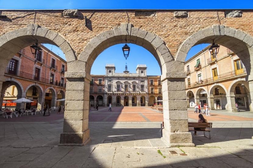 Hlavní náměstí v Ávile