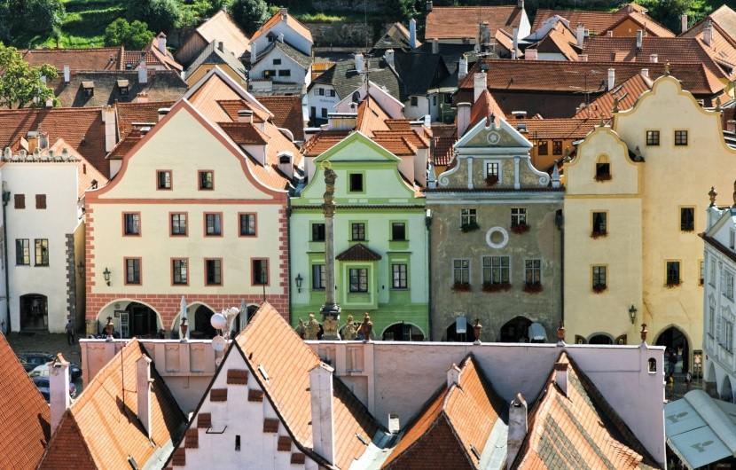 Český Krumlov bájos óvárosa