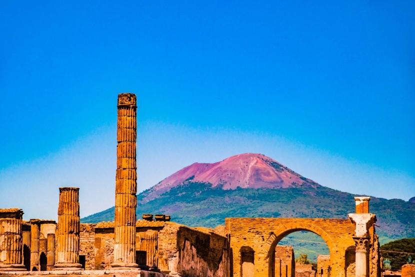 Pompeii és a Vezúv