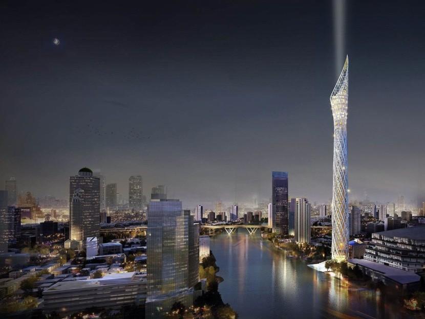 Vyhliadková veža v Bangkoku