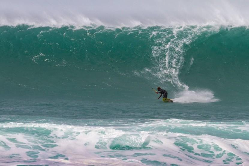 Surfovanie na Ponta Preta
