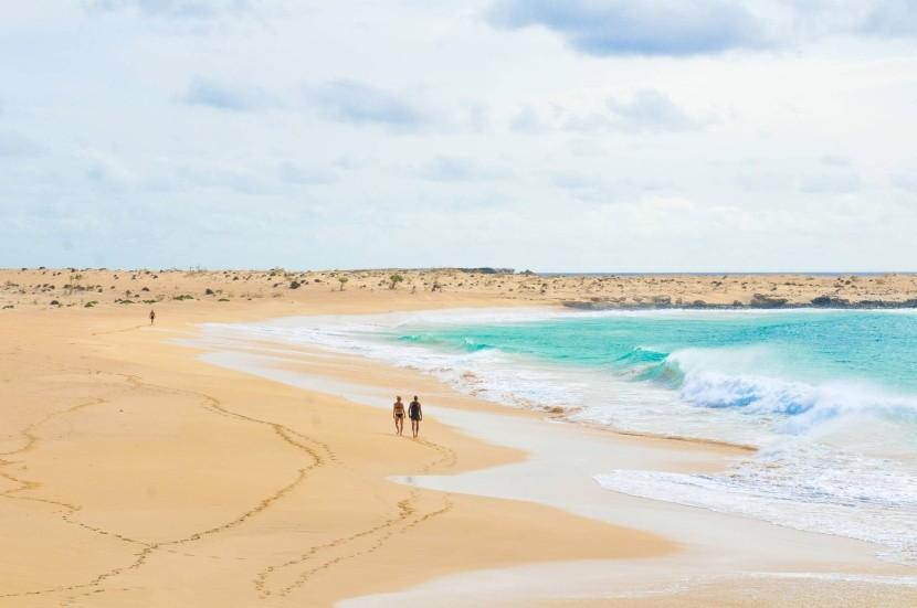 Pláže Kapverdských ostrovov