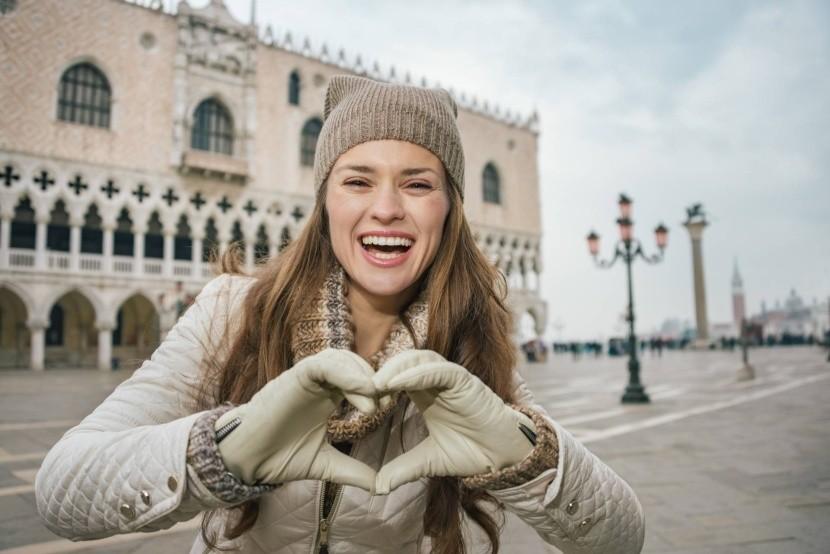 Benátky v zime