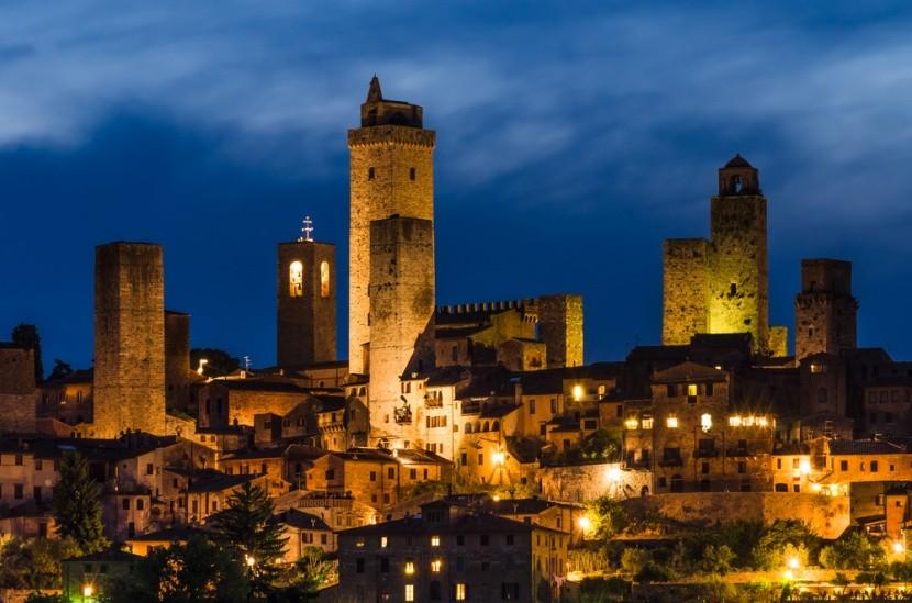 San Gimignano elvarázsol