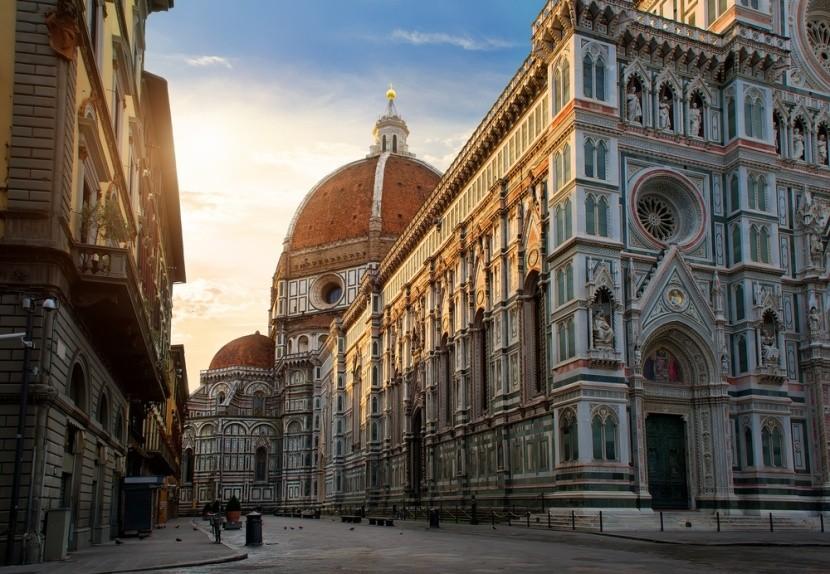 Piazza del Duomo és szépséges katedrálisa