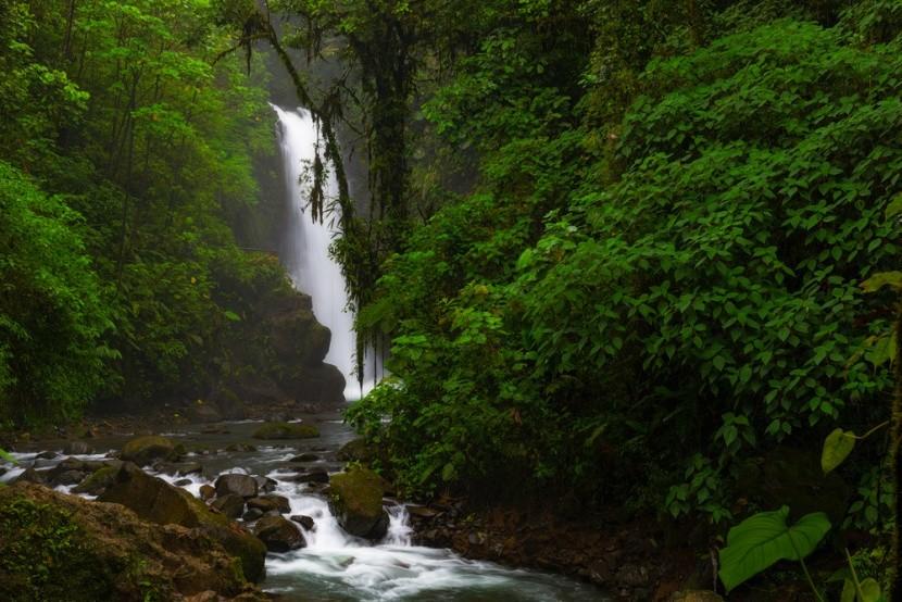 Vodopád La Paz v Kostarice