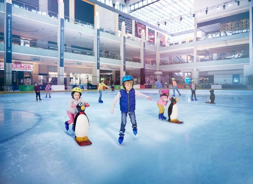 Kluziště Dubai Ice Rink