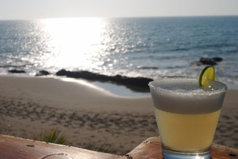 Tradičný nápoj pisco sour