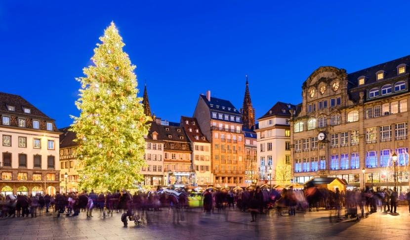 Vianočné trhy v Štrasburgu