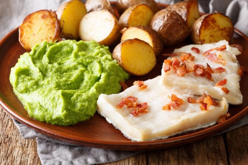 Lutfiks, a tőkehalból készült étel