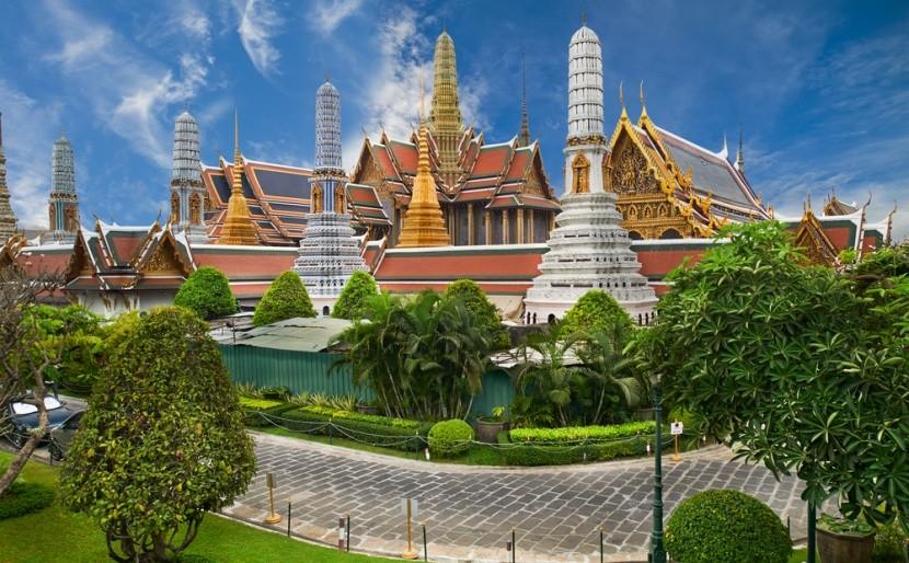 Chrám smaragdového Budhu Wat Phra Kaeo
