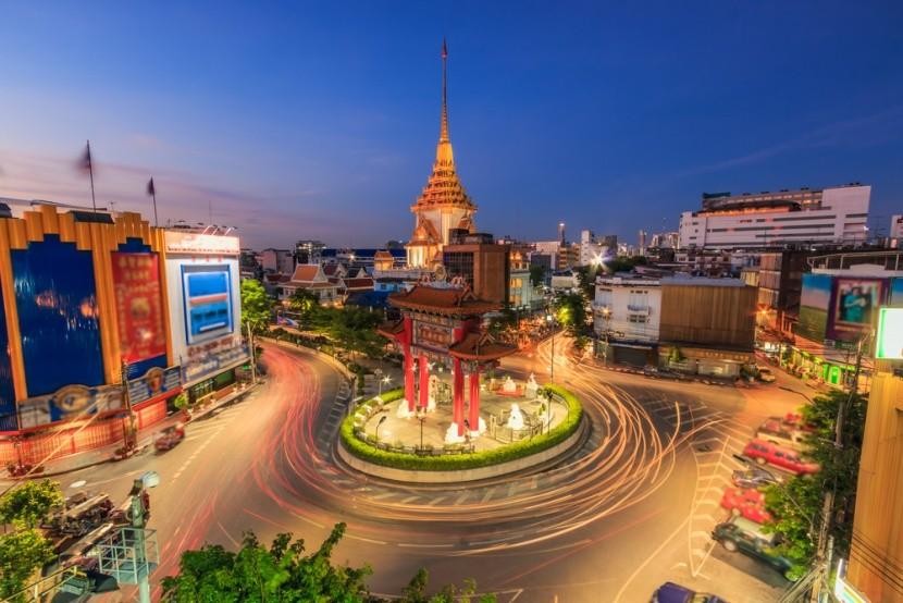 Čínska štvrť v Bangkoku