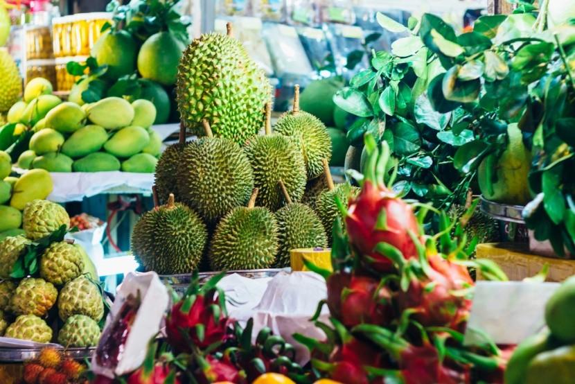 Ovocné trhy vo Vietname