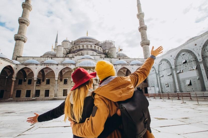 Kék mecset, Isztambul, Törökország