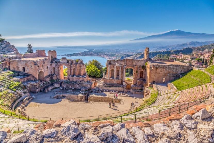 Olaszország, Szicília, Taormina