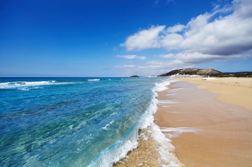 Golden Beach v severnej časti Cypru