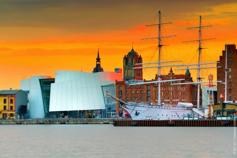 Město Stralsund je na seznamu UNESCO