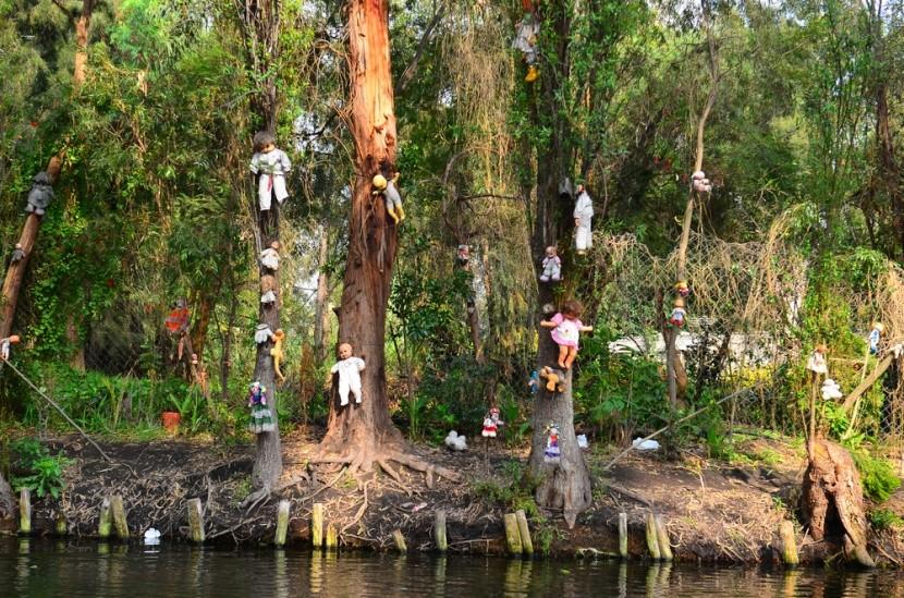 Ostrov bábik v Japonsku