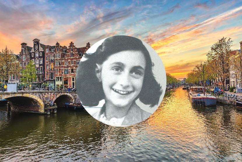 Anne Franková, Amsterdam, Holandsko