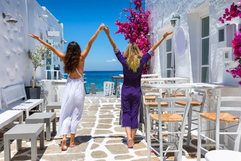 Mykonos je mixom St. Tropez a Ibizy