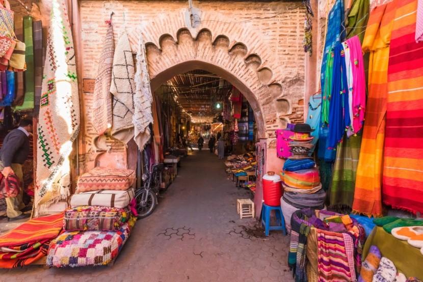Igazi marokkói piac