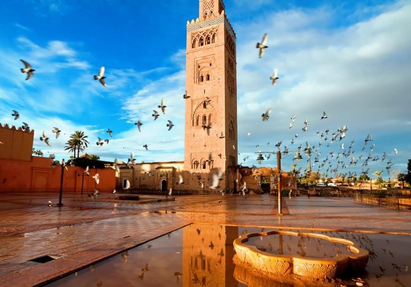 Marakechi mecset, Marokkó