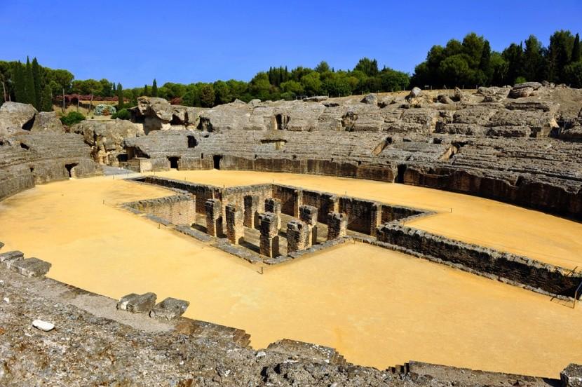 Itálica romjai vagyis a Sárkánybarlang