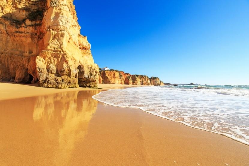 Praia da Marinha, Algarve, Portugalsko