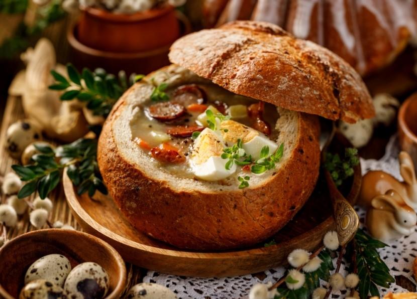 Tradiční polská velikonoční polévka