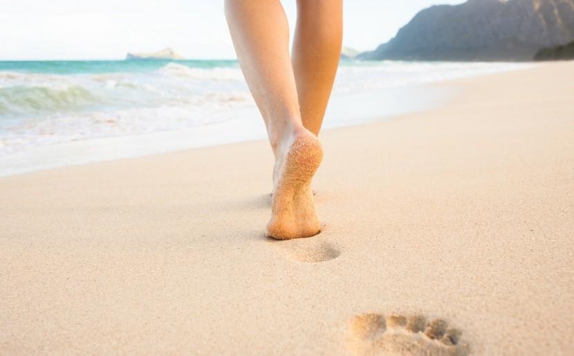 Kapcsolódj az új úticélhoz mezítlábas sétával