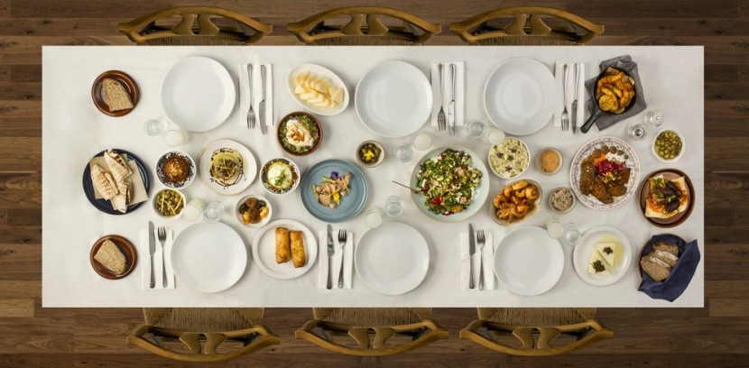 Hagyományos ételek ünnepi terítéke, Ramadán