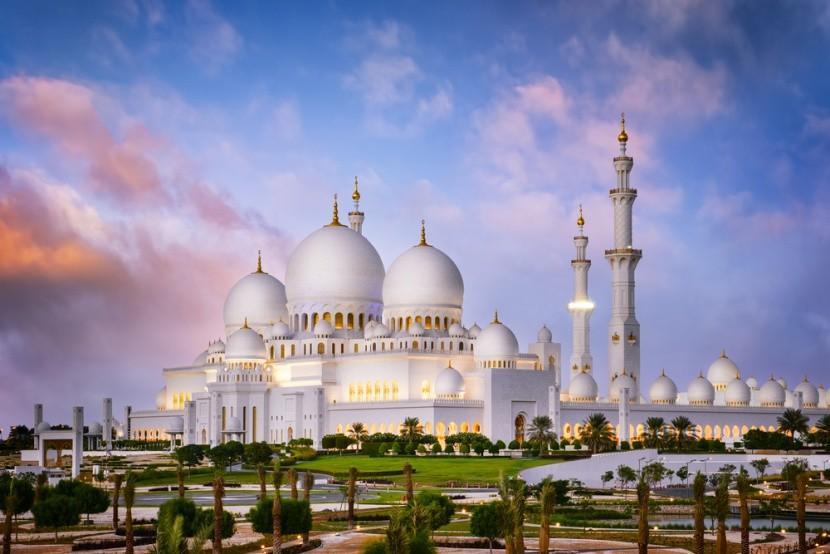 Sheik Zayed Nagymecset Abu Dhabiban