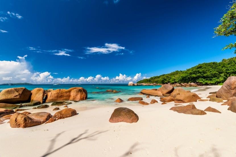 Anse Lazio Beach, Praslin-sziget